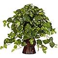 Pothos w/Bamboo Vase Silk Plant