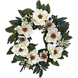 22 in Magnolia Wreath