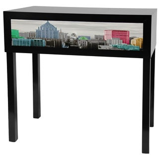 Colorful New York Console Table (China)