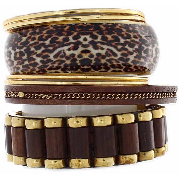 NEXTE Jewelry Fashion Stackable Bracelet Set
