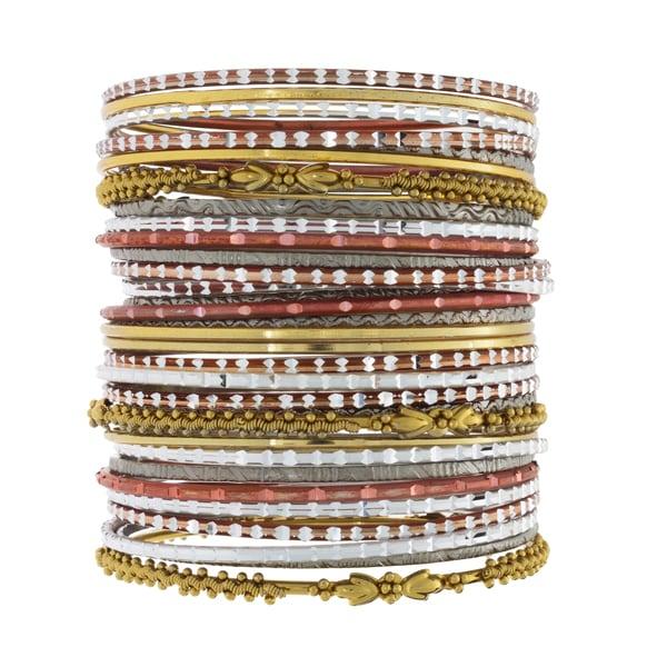 NEXTE Jewelry Stackable Bracelet Set