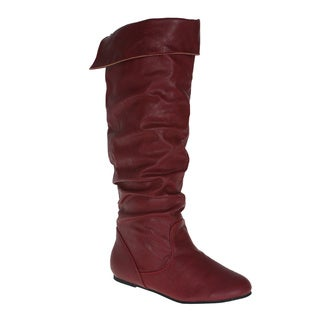 Story Women's 'Cookie' Black Knee-high Boots