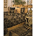 Sherry Kline China Art Black Cal King size 6-piece Comforter Set