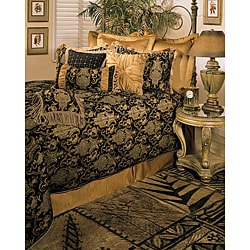 Sherry Kline China Art Black Queen size 6-piece Comforter Set