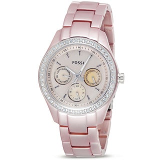 Fossil Women's 'Stella Boyfriend' Aluminum Multifunction Watch