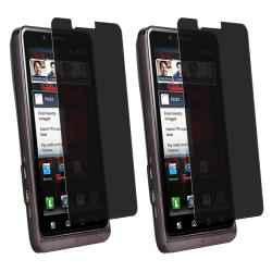 Privacy Filter Screen Protector Motorola Droid Bionic XT875 (Pack of 2)