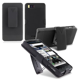 Holster Case/ Screen Protector/ Charger/ Battery for Motorola Droid X2