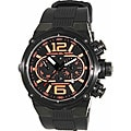 Officina Del Tempo Power Chronograph Orange Accent Watch