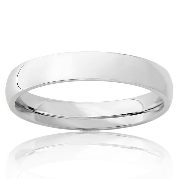Polished Stainless Steel 4MM Ring