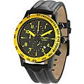 Jorg Gray Men's Black Chronograph Watch