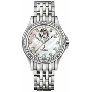 Bulova Accutron Women's 'Kirkwood' Automatic Movement Stainless Steel Watch