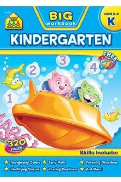 Big Kindergarten Workbook (Paperback)