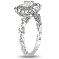 Miadora 18k White Gold 3/4ct TDW White Diamond Ring (H-I, I1-I2)