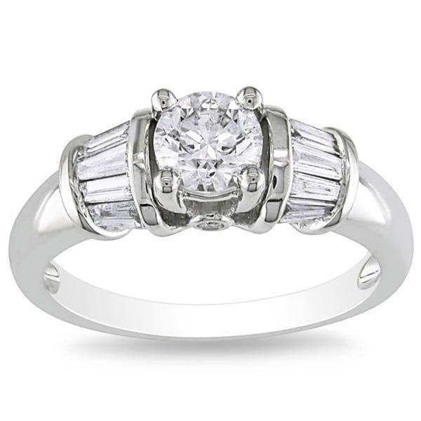 Miadora Signature Collection 14k White Gold 1ct TDW Diamond Ring (G-H, I1-I2)