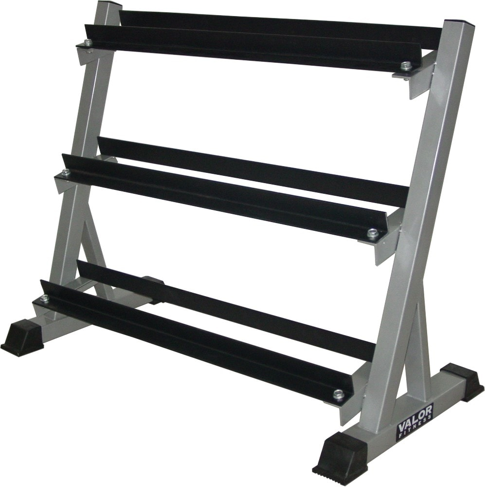 Valor Fitness 3 Tier Dumbbell Rack