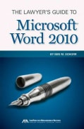 The Lawyer's Guide to Microsoft Word 2010 (Paperback)