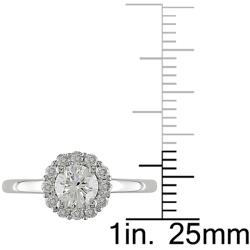 14K White Gold 1 CT TDW Diamonds  Ring (G-H, I2-I3)