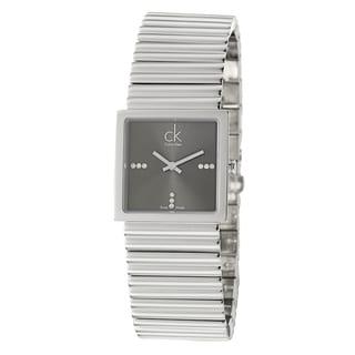 Calvin Klein Women's 'Spotlight' Stainless Steel Quartz Diamond Watch