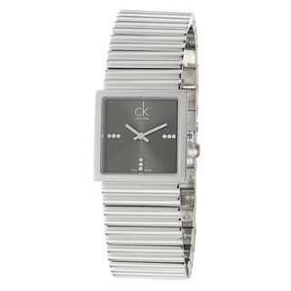 Calvin Klein Women's 'Spotlight' Stainless Steel Quartz Diamond Watch