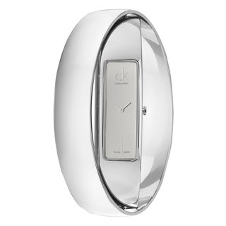Contemporary Calvin Klein Women's 'Element' Stainless-Steel Quartz Watch
