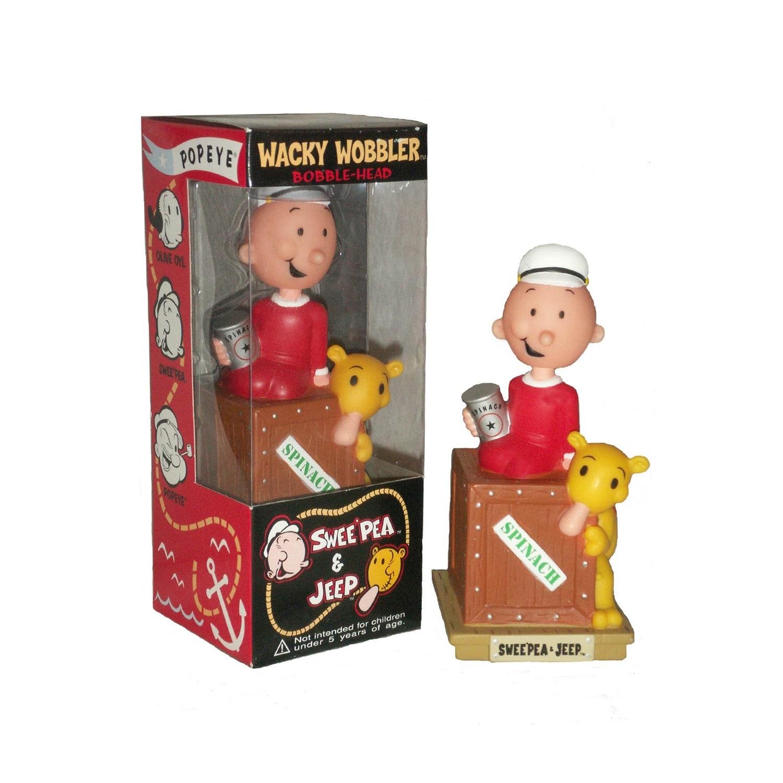 Popeye the Sailorman 'Sweat Pea' Bobble Head