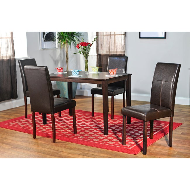 Simple Living Bettega Parson 5-piece Dining Set