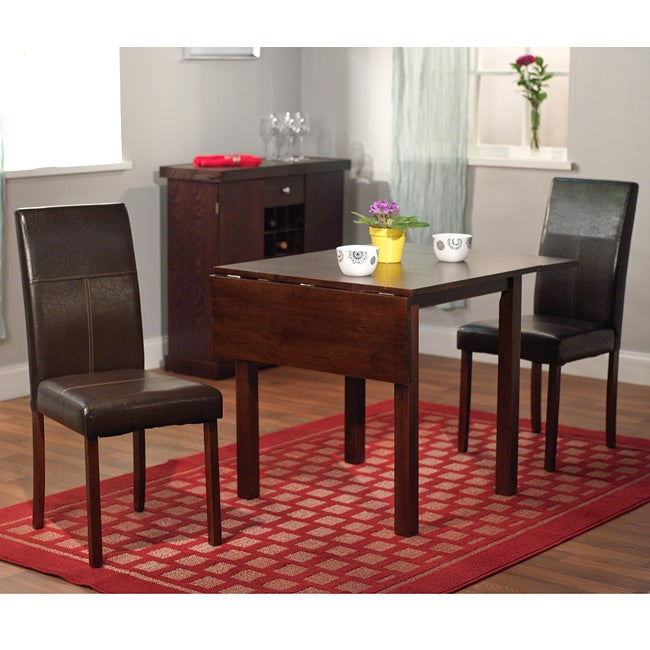 Amazing 3 Piece Dining Set with Drop Leaf Table 650 x 650 · 200 kB · jpeg