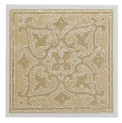 "Self Stick Two Tone Vinyl Wall Tiles Backsplash (4""x4"") 3 Square Feet Sandstone"
