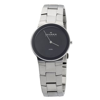 Skagen Men's Black Face Bracelet Watch