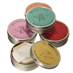 Large Bee Solid Lotion Bars (Set of Five)