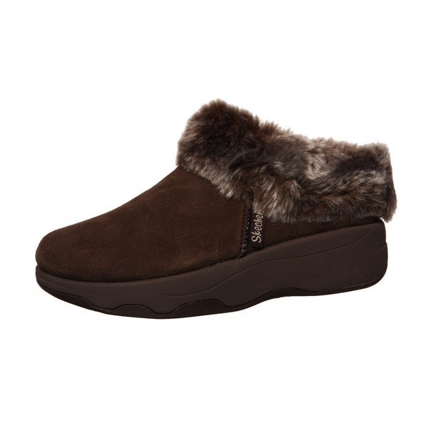 Skechers USA Women's 'Spindrift' Tone-ups Suede Clogs