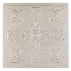 Metallo Wall Silver 4x4 Self Adhesive Vinyl Wall Tile - 27 Tiles/3 sq Ft.