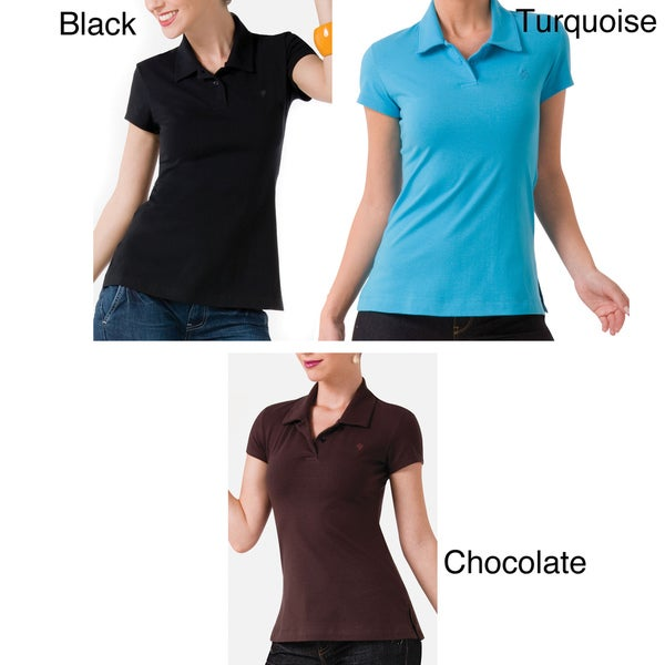 Illusion Women's Cotton Perfect Fit Polo Shirt