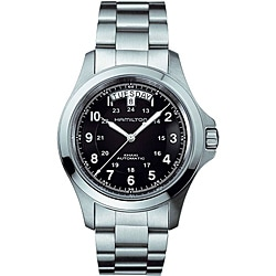 Hamilton Men's Khaki King II Black Dial Watch