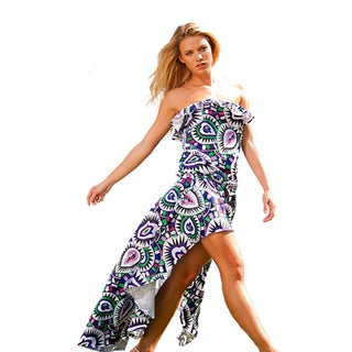 Rachel Lym Women&#39;s Lola Mosaic Maxi Dress