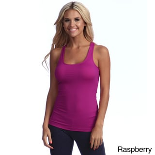 Illusion Microfiber Racerback Tank Top
