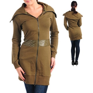 Stanzino Women's Olive Knee-length Jacket