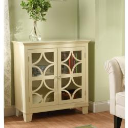Simple Living Sydney Ivory Cabinet