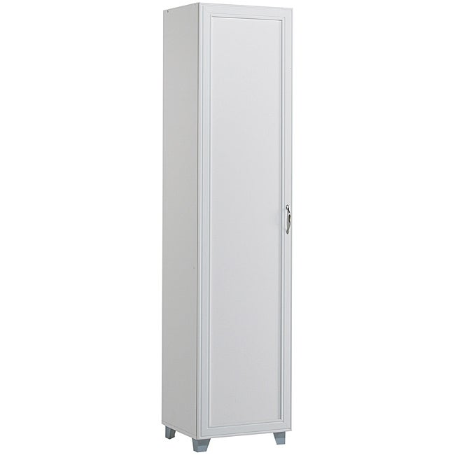 akadaHOME Multipurpose Laundry Single Door Storage Cabinet
