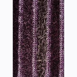 Handwoven Multicolor Mandara Shag Casual Rug (7'9 x 10'6)