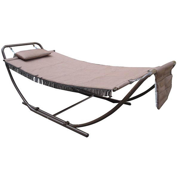 Deluxe Padded Folding Hammock - 13976067 - Overstock.com Shopping - Great Deals on Jeco Hammocks ...