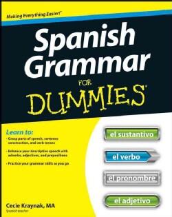Spanish Grammar for Dummies (Paperback)