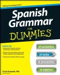 Spanish Grammar for Dummies (Paperback)