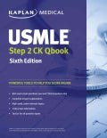 Kaplan Medical USMLE Step 2 CK Qbook (Paperback)