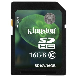 Kingston 16 GB Secure Digital High Capacity (SDHC)