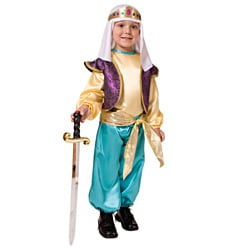 Dress Up America Boy's Arabian Sultan Costume