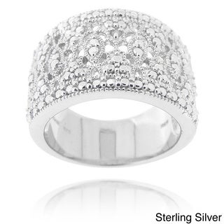 DB Designs Diamond Accent Lace Filigree Design Ring