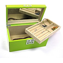 Seya Green High Gloss Jewelry Box