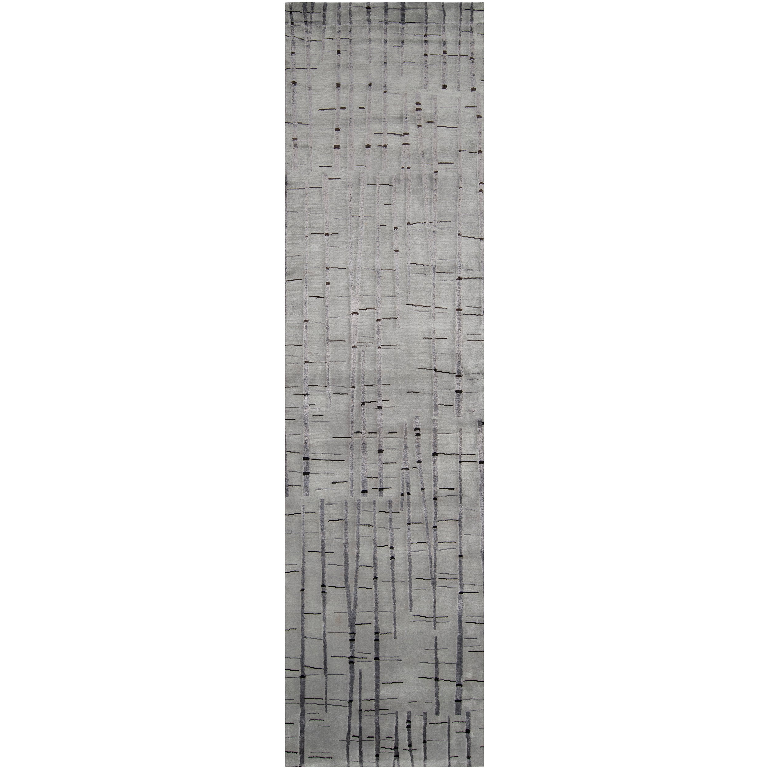 Julie Cohn Hand-knotted Ilford Abstract Design Wool Rug (2 '6 x 10')