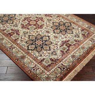 Hand-knotted Huntington Wool Rug (8'6 x 11'6)